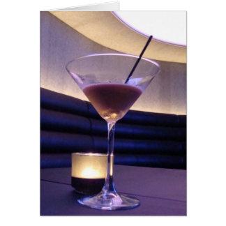 Coffee Margarita Cocktail Card