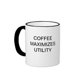 COFFEE MAXIMISES UTILITY RINGER MUG