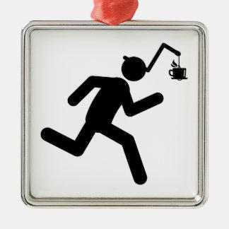 Coffee Metal Ornament