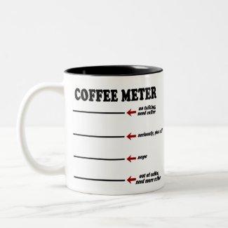 Coffee Meter mug