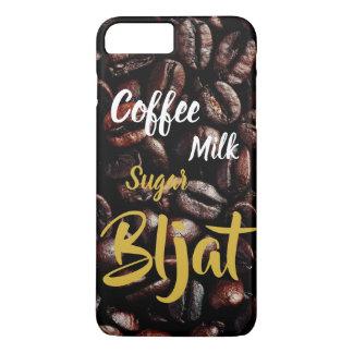 Coffee Milk Sugar Bljat - mobile phone covering iPhone 8 Plus/7 Plus Case