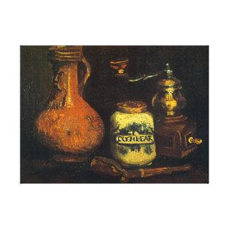 Coffee Mill Canvas Print