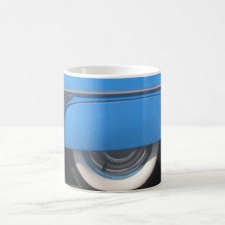 coffee mklug with car fender classic white coffee mug