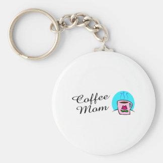 Coffee Mom Keychain