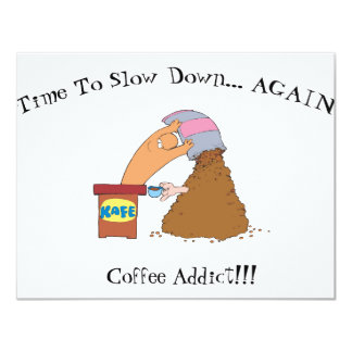 Coffee Monster Card
