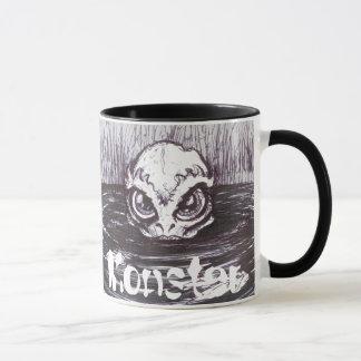 Coffee Monster - Deep One - Ringer Mug