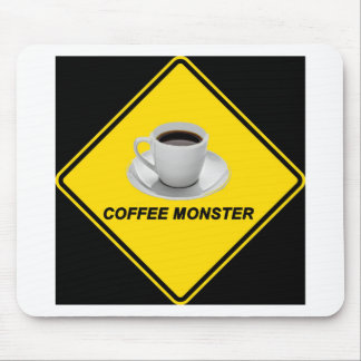 """""""Coffee Monster"""" Mouse Pad"""
