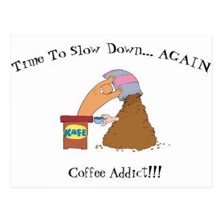 Coffee Monster Postcard