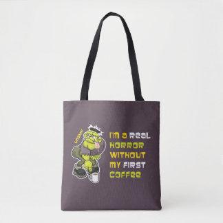 Coffee Monster Tote Bag