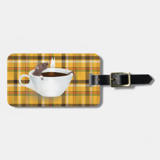 coffee mouse bag tag