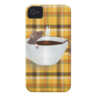 coffee mouse iPhone 4 cases