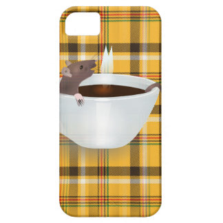 coffee mouse iPhone SE/5/5s case