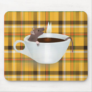 coffee mouse mouse pad