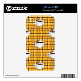 coffee mouse skins for the iPhone 4