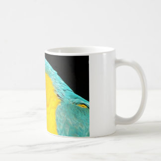 Coffee Mug 11oz Blue and Gold Macaw Parrot