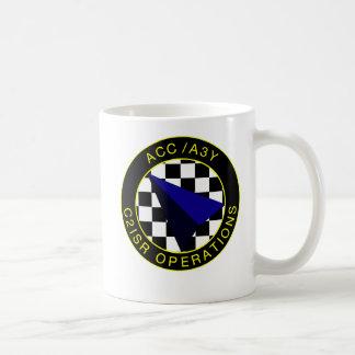 Coffee Mug, 15 oz Patch, Wings, Name Coffee Mug