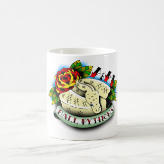 Coffee mug - A&M white tattoo design