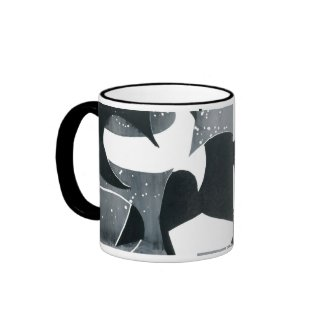 Coffee Mug - Abstract Design, 'Blades' mug
