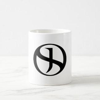 Coffee Mug - Black Handle