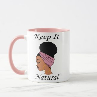 Coffee Mug - Black Woman with Natural Hair