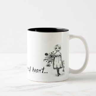 """Coffee Mug """"Blessed Are The Pure Of Heart"""""""