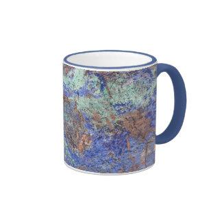 Coffee Mug--Blue Copper