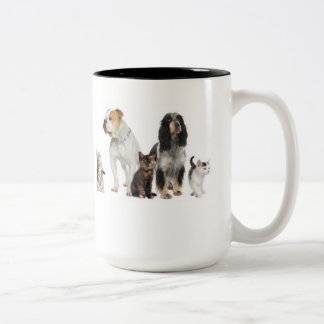 Coffee mug Cats And Dogs Design