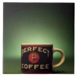 Coffee mug ceramic tiles