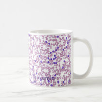 Coffee Mug- CLL Blood Pattern Coffee Mug
