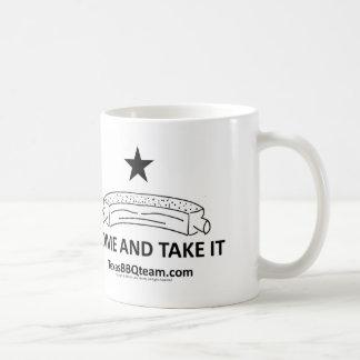 Coffee Mug - Come and Take it - Texas BBQ Team