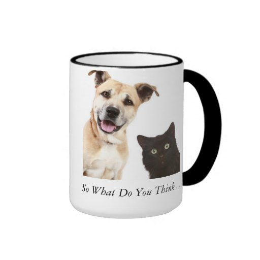 Coffee mug Dog and Cat