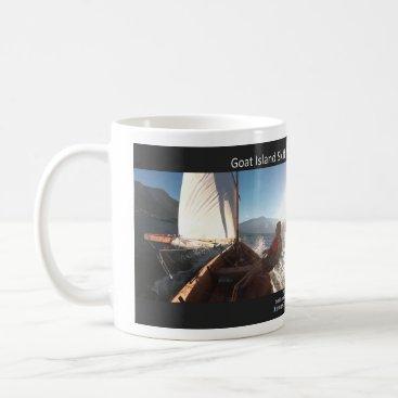 Coffee Themed Coffee Mug for 2018 Goat Island Skiff Calendar