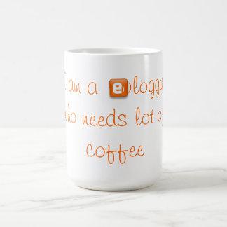 Coffee mug for bloggers.