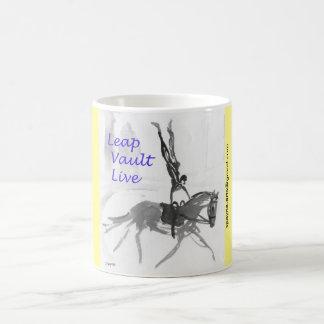 Coffee Mug for Equestrian Vaulter