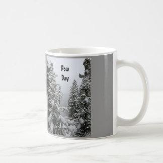 Coffee Mug for Skiers