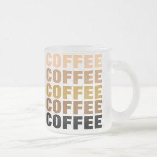 COFFEE mug (frosted glass)