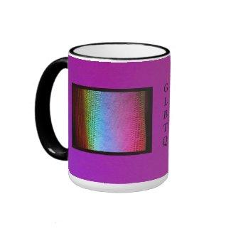 Coffee Mug - GLBTQ Mug with LED Wash Lighting