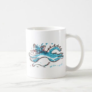 coffee mug happy water cat leaps