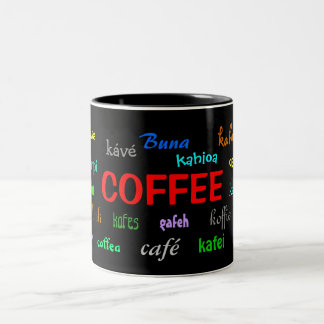 Coffee Mug in Many Languages