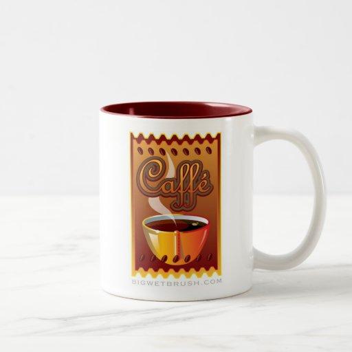 Coffee mug_logo design1 Two-Tone coffee mug