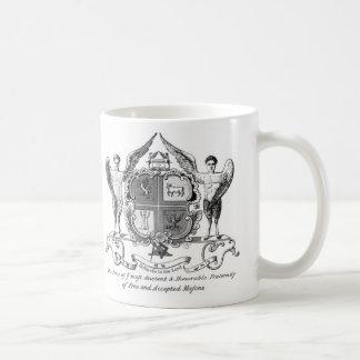 Coffee Mug-Masonic Freemason Mason Masonry Coffee Mug