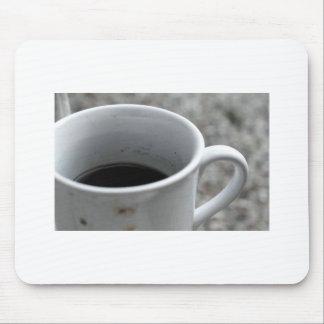 Coffee mug mouse pad