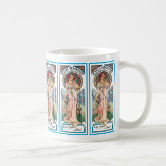 Coffee Mug:  Mucha -  Perfume Ad
