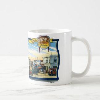 Coffee Mug~Mural #1:  Hermosa Beach Pier Plaza