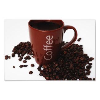 Coffee Mug on Poster Photo Print
