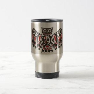 Coffee Mug Pacific NW Native American Owl Art