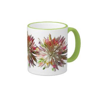 Coffee Mug - Painted White Spider Mum