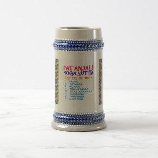 Coffee Mug PATANJALI YOGA SUTRA Indian Tradition