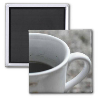 Coffee mug refrigerator magnets