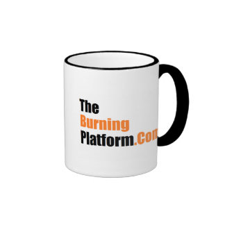 Coffee mug - ringer style
